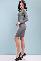 Женское облегающее платье из тонкой вязки (3247-3248 svt), фото 3