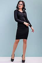 Женское облегающее платье из тонкой вязки (3247-3248 svt), фото 2