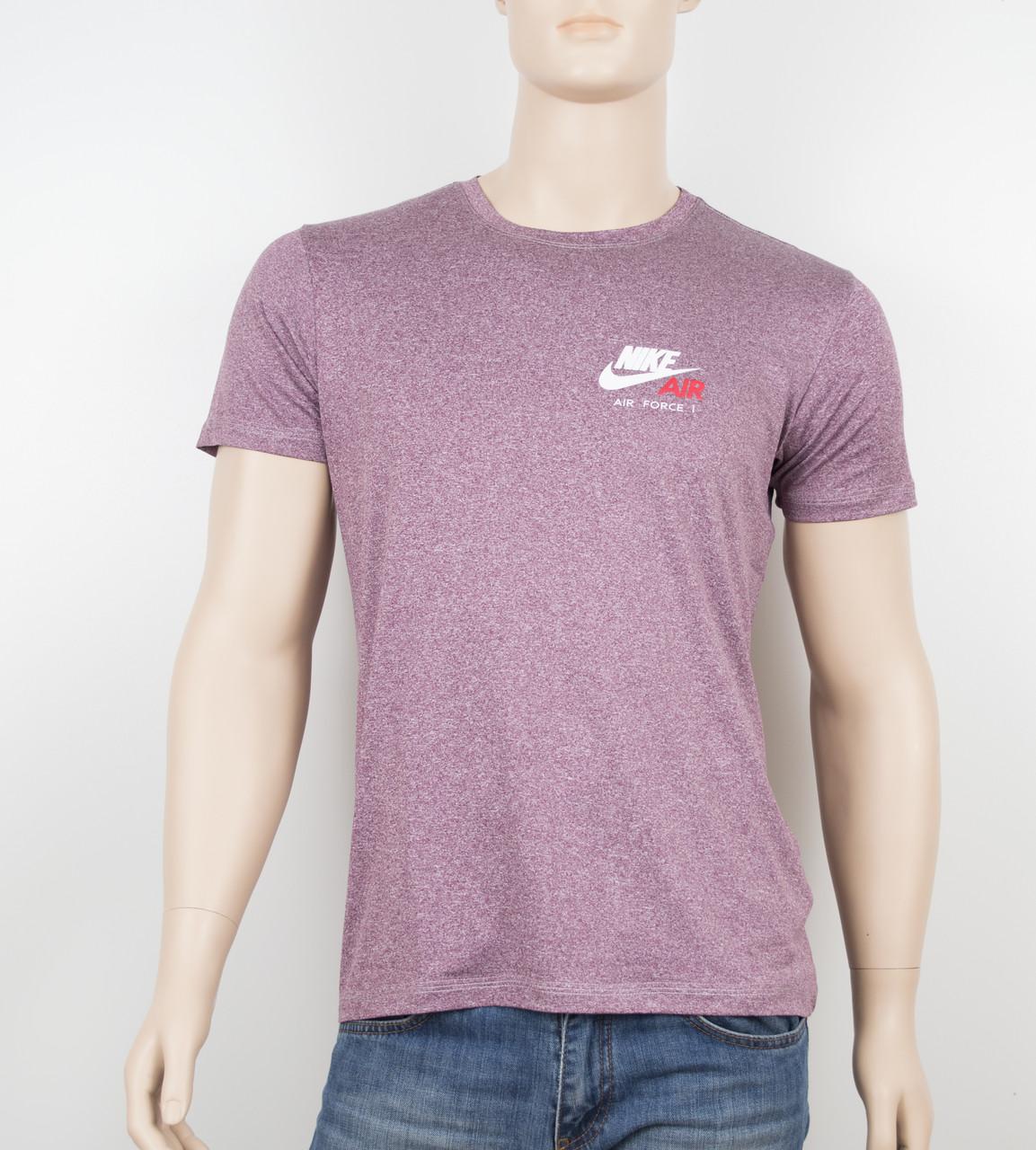 """Мужская футболка """"Вискоза"""" Nike 1901 бордо"""