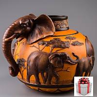 """Ваза """"Слон"""" (26 см)"""