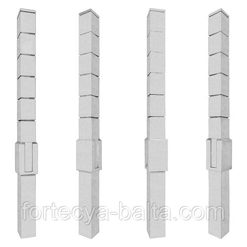 Купить столбы из прессованного бетона раствор цементный м100 пк2 гост 28013 98