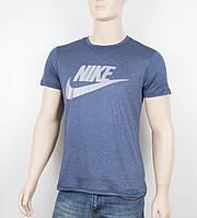 """Мужская футболка """"Вискоза"""" Nike 1902 синий, фото 1"""