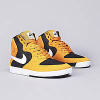 Мужские кроссовки Nike SB The P-Rod 7 High in Laser Orange, Black and White оригинал