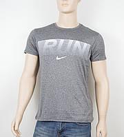 "Мужская футболка ""Вискоза"" Nike 1903 серый"
