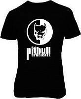 Наклейка на тканину Pitbull syndicate (ціна за розмір 30х20 см)