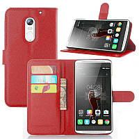 Чехол-книжка Litchie Wallet для Lenovo Vibe X3 Красный