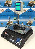 Весы торговые DOMOTEC MS-308 50кг + стойка