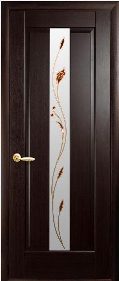 Міжкімнатні двері зі склом Прем'єра