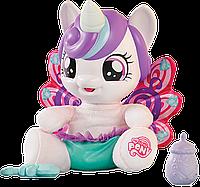 My Little Pony Flurry Heart Pony Figure Интерактивная пони Флари Харт Май литтл пони русскийязык