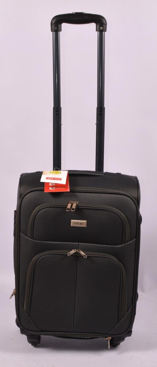 Тканевый дорожный чемодан ORMI на 4 - х колёсах средний