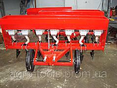 Сеялка мотоблочная точного высева 2BJF-6 (6-рядная, бункер для удобрений, крышка)