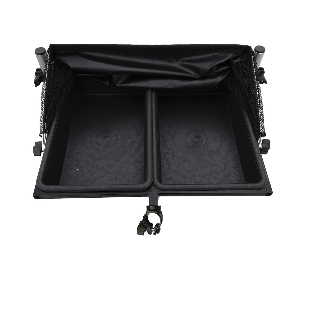 Стол XXL 55х40 см на 2 емкости для прикормки под опоры D30, D36