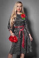 Платье  мод 471-2 размер 40-42 черное