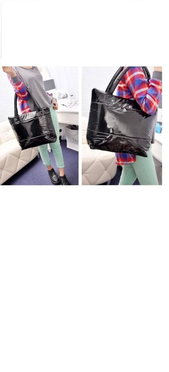 Женская универсальная модная сумка черный цвет