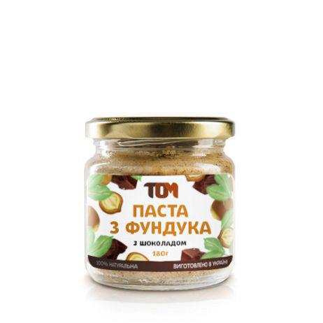 Паста с фундука с шоколадом ТОМ 180 грамм