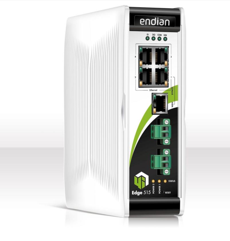 Індустріальний Firewall - Endian 4i Edge 515