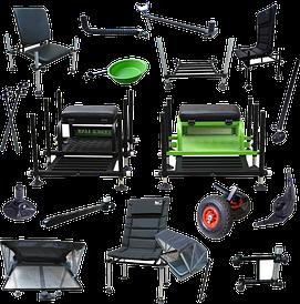 Фидерные кресла, платформы, столы