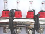 Коллектор Emmeti(Италия) на 8 выходов в сборе для теплого пола, фото 5