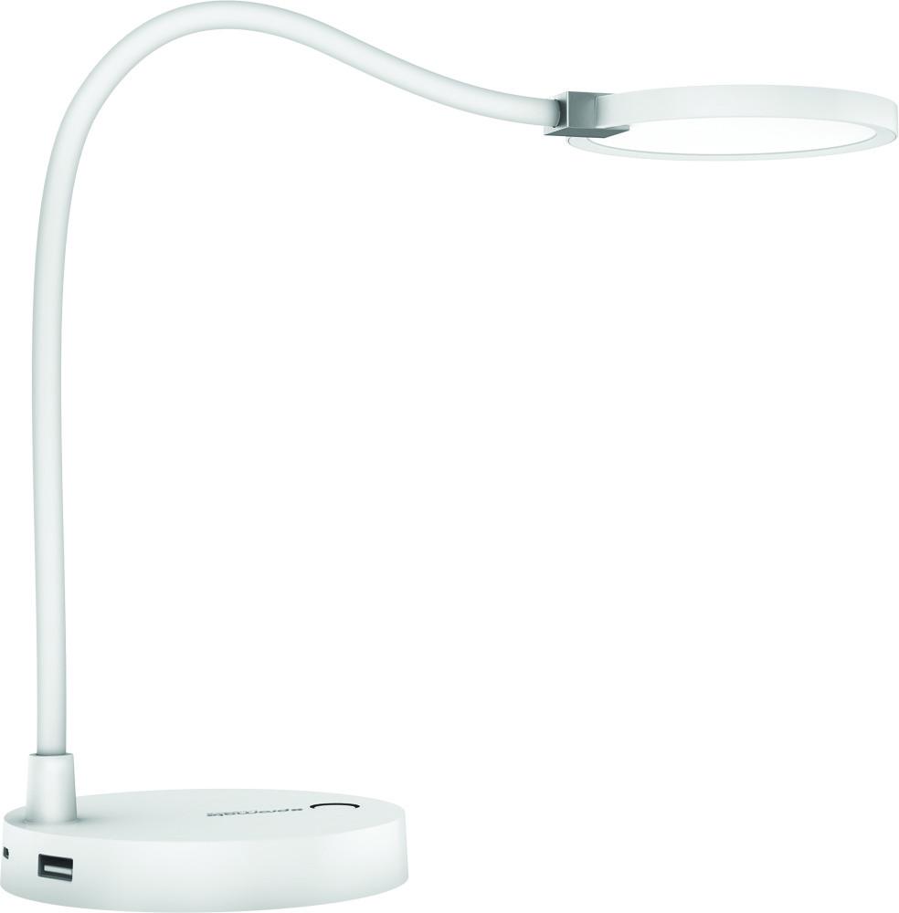 Настольная лампа Promate Lumiflex-2 White РАСПАКОВАН