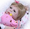 Лялька реборн вилиновая Емілія Reborn. (01346)