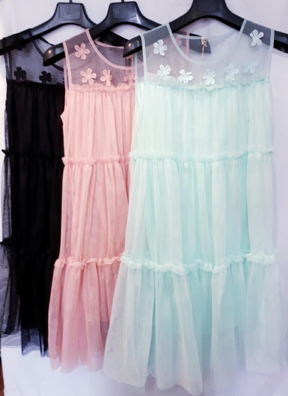 Платье женское Сетка. Фабричный Китай, размер универсальный, хорошее качество