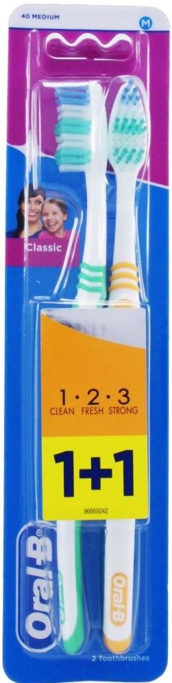 Зубная щетка Oral-B 2шт/уп