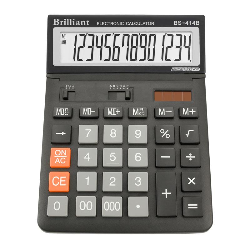 Калькулятор Brilliant BS-414В, 14 розрядів