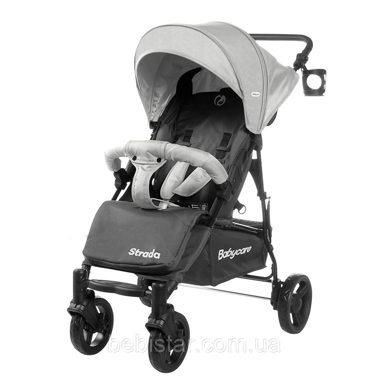 Прогулочная коляска серая Babycare Strada CRL-7305 Cloud Grey