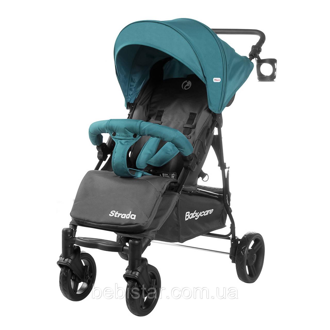 Прогулочная коляска зеленая Babycare Strada CRL-7305 Lime Green