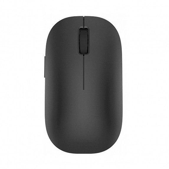 Компьютерные мыши и трекболы Xiaomi Mi Wireless Mouse black Беспроводное USB 2.0 Поликарбонат Стекло Windows Оптический Серебристый