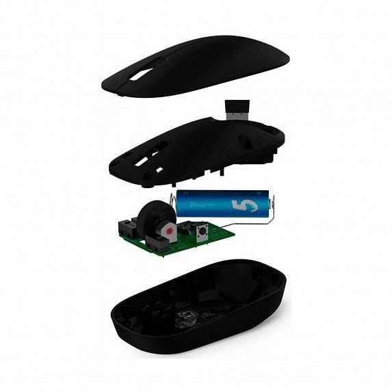 Xiaomi Mi Wireless Mouse black Беспроводное USB 2.0 Поликарбонат