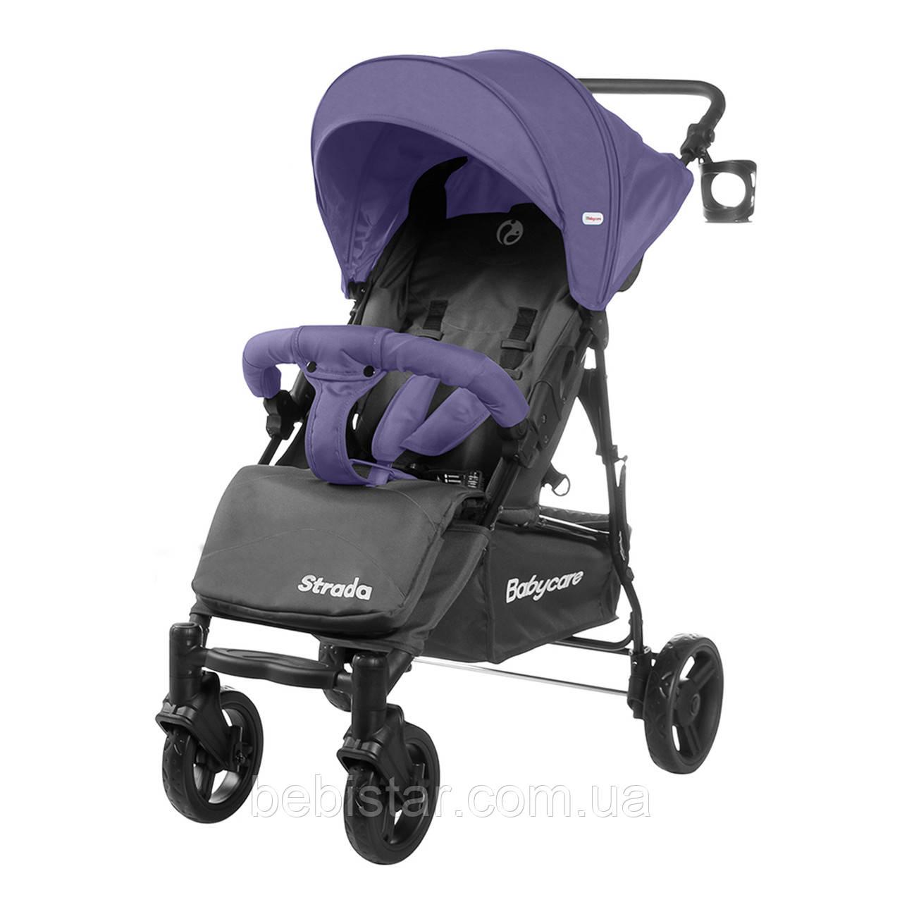 Прогулочная коляска фиолетовая Babycare Strada CRL-7305 Royal Purple