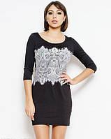 f63001d102d Черное Платье с Белым Кружевом — Купить Недорого у Проверенных ...