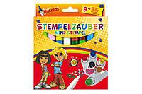 Фломастеры-штампы волшебные меняющие цвет MALINOS Stempelzauber 9 (9+1) шт