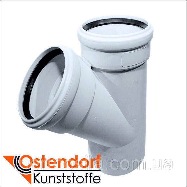 Ostendorf SKOLAN Тройник  45° DN 110/110 SKEA