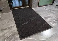 Грязезащитный ковер Рубчик-9 черный 130х200см