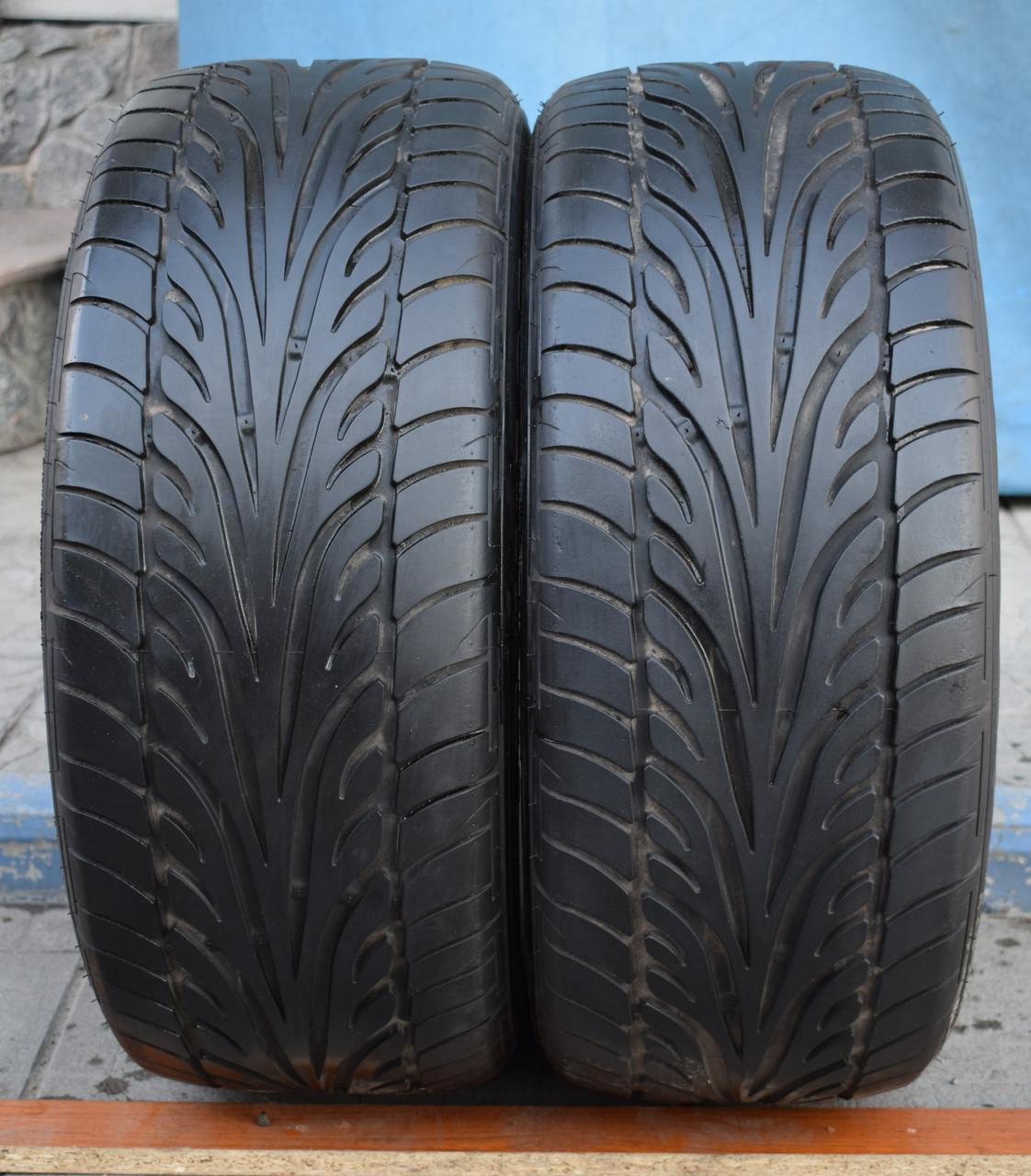 Шины б/у 225/50 R16 Dunlop SPSport, ЛЕТО, 5,5-6 мм, пара