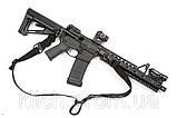 Тактический оружейный 1-2 точечный ремень Magpul MS3 МОЕ (США) - ЧЁРНЫЙ, фото 7