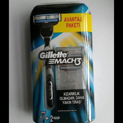 Станок для бритья мужской Gillette Mach 3 (Жиллет Бритва Мак 3 + 3 кассеты Оригинал)