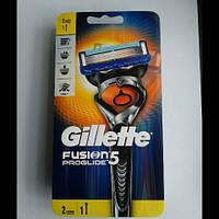 Станок мужской для бритья Gillette Fusion 5 ProGlide  FlexBall + 2 картридж  Оригинал