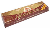 Шоколадный  батончик с шоколадной начинкой Бабаевский 50 грамм
