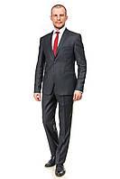 Тёмно-серый модельный мужской костюм Marco Menti 354