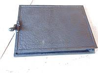 Дверца чугунная топочная ( Черный Квадрат )