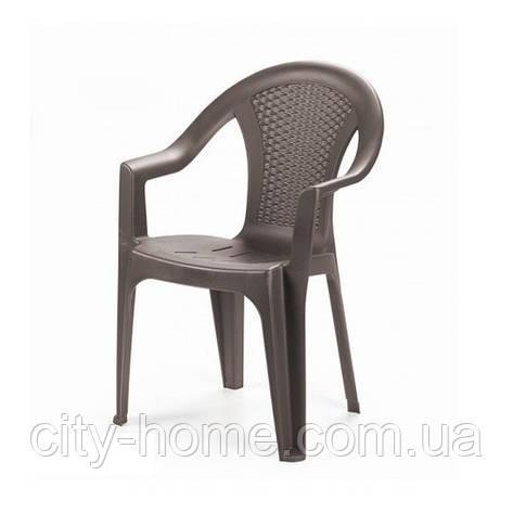 Кресло Ischia коричневое, фото 2