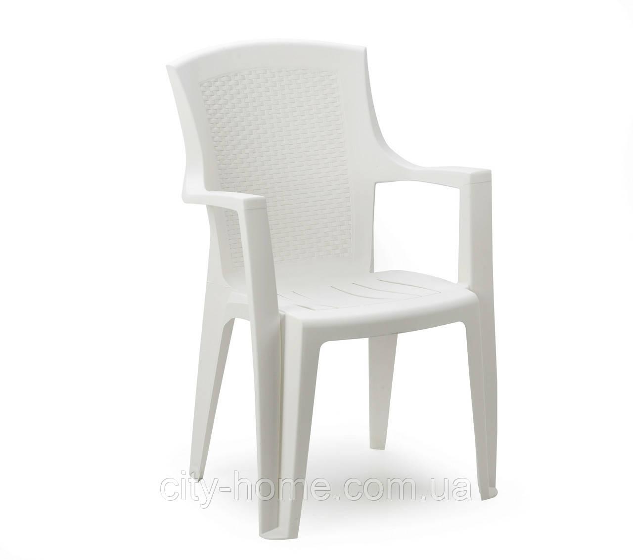 Кресло пластиковое Eden белое