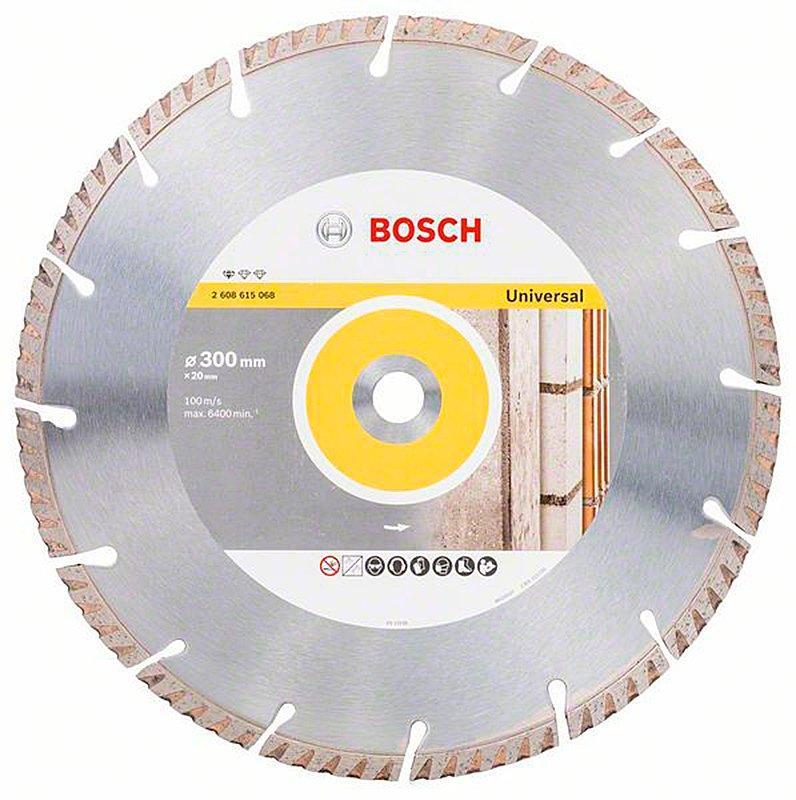 Алмазный диск Bosch Standard for Universal 300x20x3,3x10 мм (2608615068)