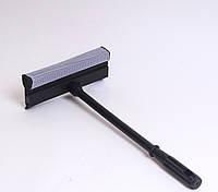 Швабра для чистки окон, губка 20 см, ручка 39,5 см