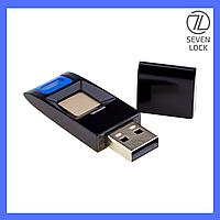 USB Flash накопитель со сканером отпечатков пальцев SEVEN Lock UF1 Black