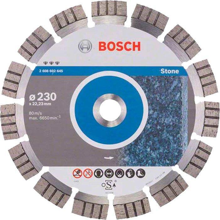 Алмазный круг Bosch Best for Stone, 23022,232,4 мм (2608602645)