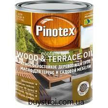 Pinotex Terrace & Wood Oil, 3 литра  ( Тонируется в 36 оттенков)